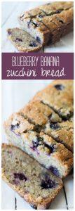 Blueberry Banana Zucchini Bread Recipe