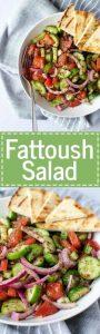 Fattoush Salad Recipes