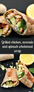 Grilled Chicken Avocado Wrap Recipe