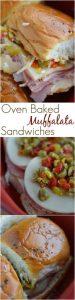 Oven Baked Muffalata Sandwiches Recipe