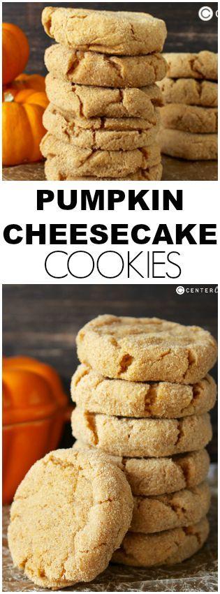 Pumpkin Cheesecake Cookies Recipe