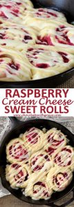 Raspberry Cream Cheese Sweet Rolls Recipe