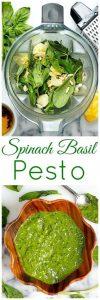 Super Healthy Spinach Basil Pesto Recipe